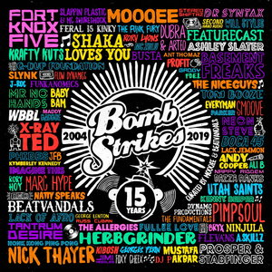 VARIOUS/MOOQEE & BEATVANDALS - Bombstrikes: 15 Years (Curated By Mooqee & Beatvandals)