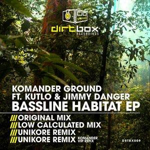KOMANDER GROUND feat KUTLO & JIMMY DANGER - Bassline Habitat EP