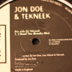 JON DOE & TEKNEEK - I Need You