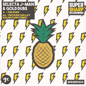 SELECTA J-MAN & GOLD DUBS - Fire Burn