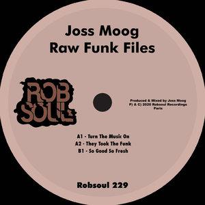 JOSS MOOG - Raw Funk Files