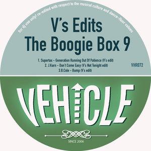SUPERTAX/J KARN/B COLE - V's Edits - The Boogie Box 9