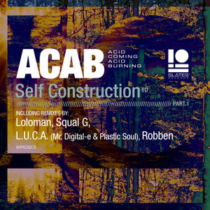 ACID COMING ACID BURNING - Self Construction EP