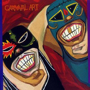 CARNIVAL ART - Wrestling Swamis Vs Mr Blue Veins