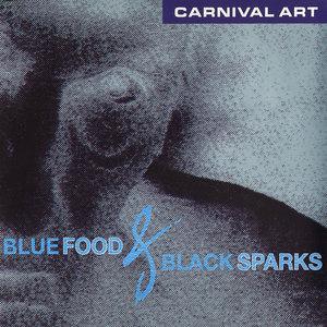 CARNIVAL ART - Blue Food & Black Sparks