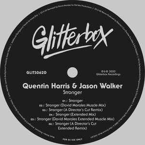 QUENTIN HARRIS feat JASON WALKER - Stronger (Remixes)