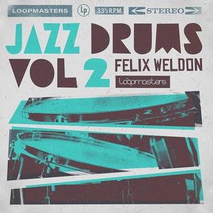 FELIX WELDON - Jazz Drums 2 (Sample Pack WAV)