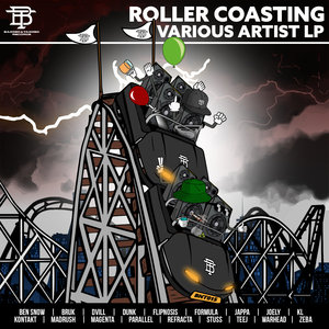 VARIOUS - Roller Coasting V/A LP