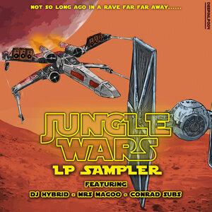 MRS MAGOO/DJ HYBRID/CONRAD SUBS - Jungle Wars: Episode V - LP Sampler