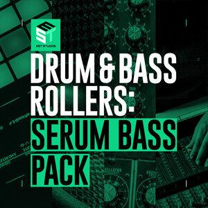 EST STUDIOS - Drum & Bass Rollers: Serum Bass Pack (Sample Pack Serum Presets/WAV)