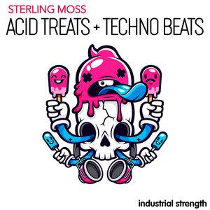 INDUSTRIAL STRENGTH RECORDS - Sterling Moss Acid Treats + Techno Beats (Sample Pack WAV)