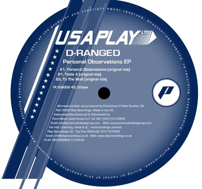 D RANGED - 2 Feet To The Floor EP