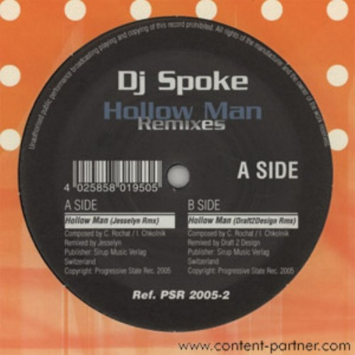 DJ SPOKE - Hollow Man (remixes)