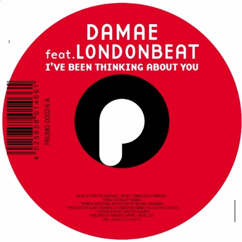 DAMAE feat LONDONBEAT - I've Been Thinking About You