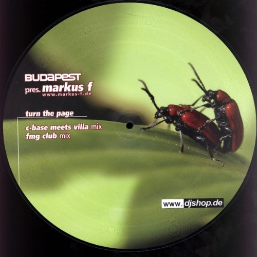 MARKUS F - Turn The Page