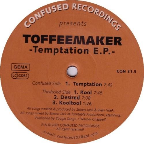 TOFFEEMAKER - Temptation EP