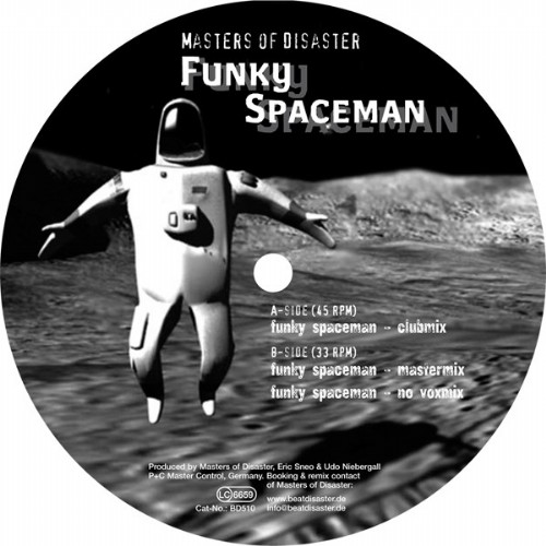 MASTERS OF DISASTER - Funky Spaceman