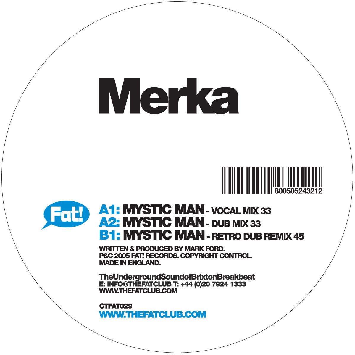 MERKA feat MC ESHA - Mystic Man