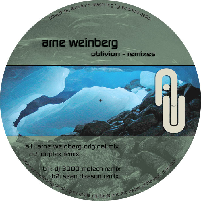 WEINBERG, Arne - Oblivion (remixes)