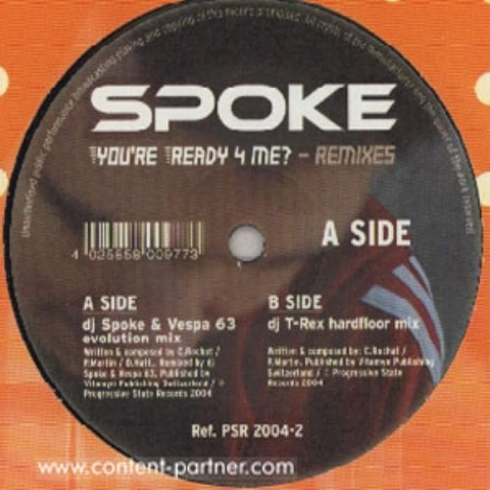 DJ SPOKE - You're Ready 4 Me (remixes)