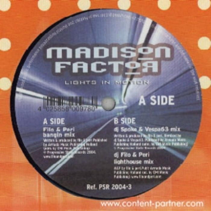 MADISON FACTOR - Lights In Motion