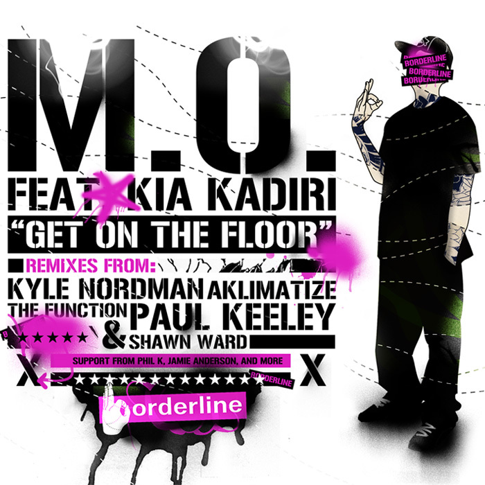 MO feat KIA KADIRI - Get On The Floor