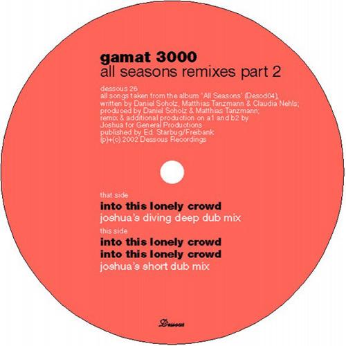 GAMAT 3000 - All Seasons Remixes (Part 2)