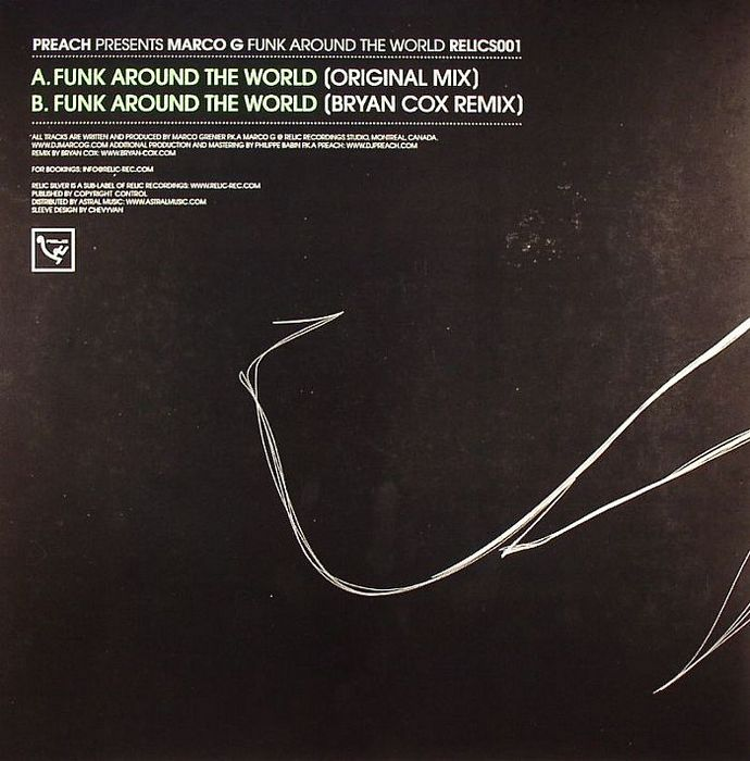PREACH presents MARCO G - Funk Around The World
