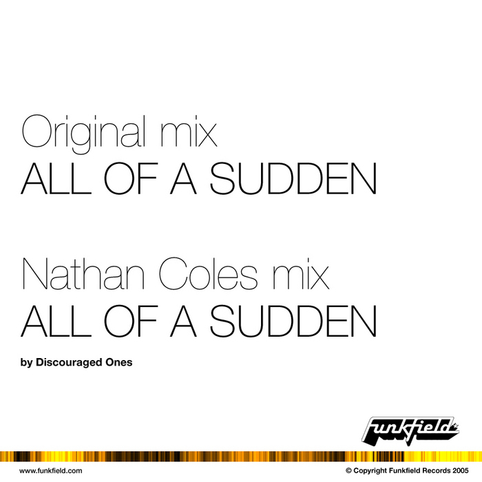 COLES, Nathan & DISCOURAGED ONES - All Of A Sudden