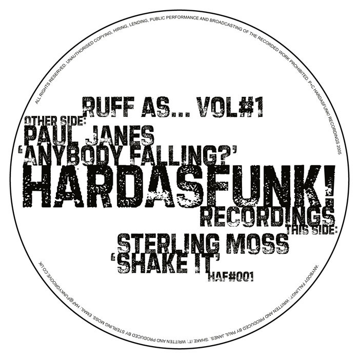 JANES, Paul/STERLING MOSS - Anybody Falling?
