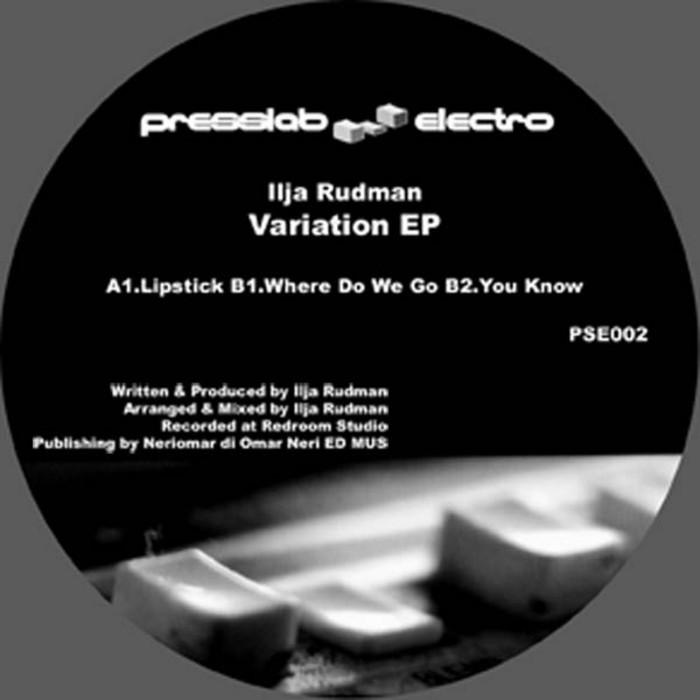 RUDMAN, Ilija - Variation EP