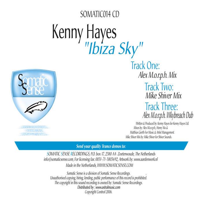 HAYES, Kenny - Ibiza Sky (remixes)