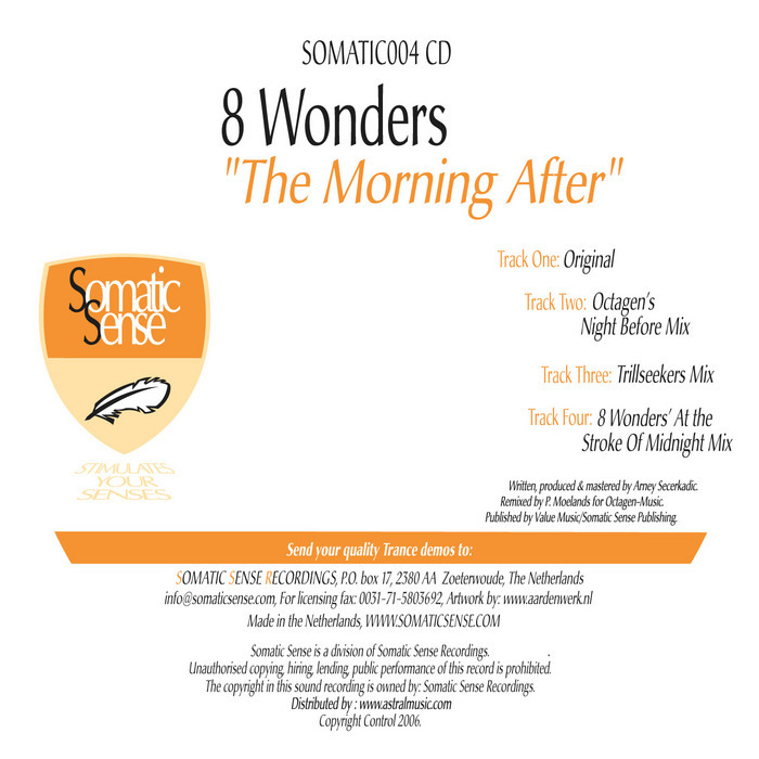 8 WONDERS - The Morning After (remixes)