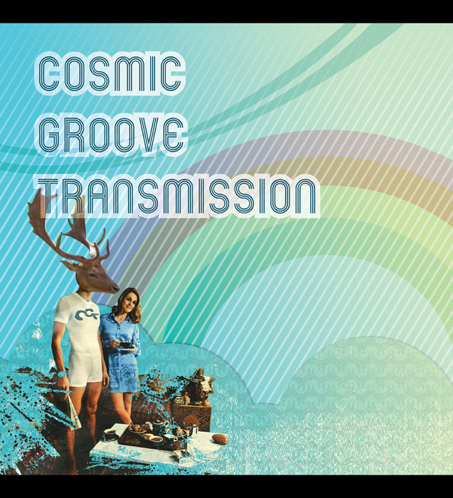COSMIC GROOVE TRANSMISSION - It's Not Blue EP