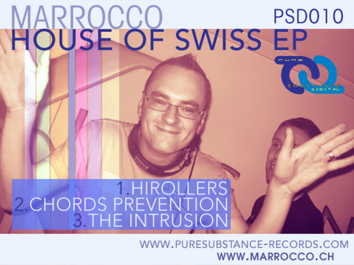 MARROCCO - House Of Swiss EP