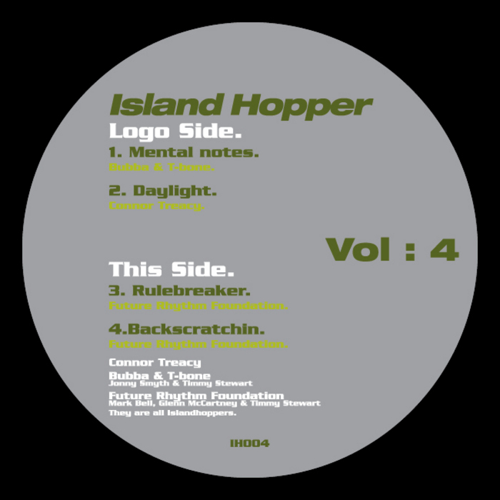 BUBBA & T-BONE/CONNOR TREACY/FUTURE RHYTHM FOUNDATION - Island Hopper Volume 4