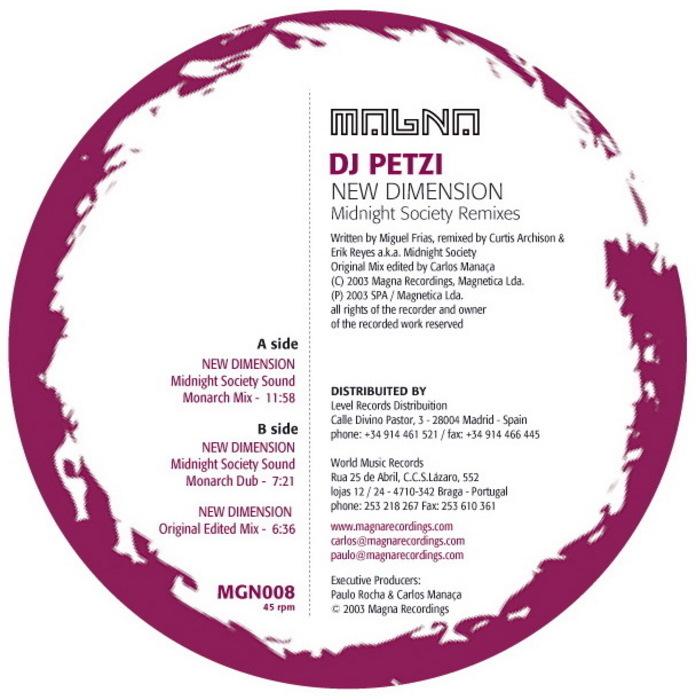DJ PETZI - New Dimension