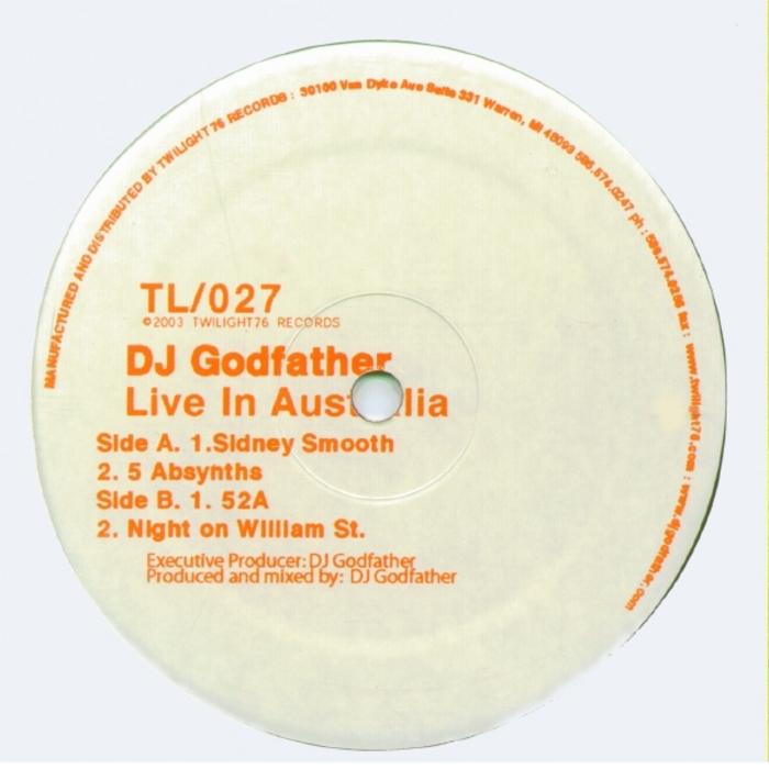DJ GODFATHER - Live In Australia