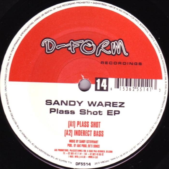 WAREZ, Sandy - Plass Shot EP