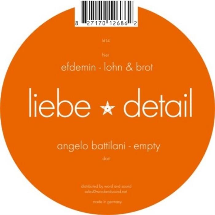 EFDEMIN/ANGELO BATTILANI - Empty / Lohn & Brot