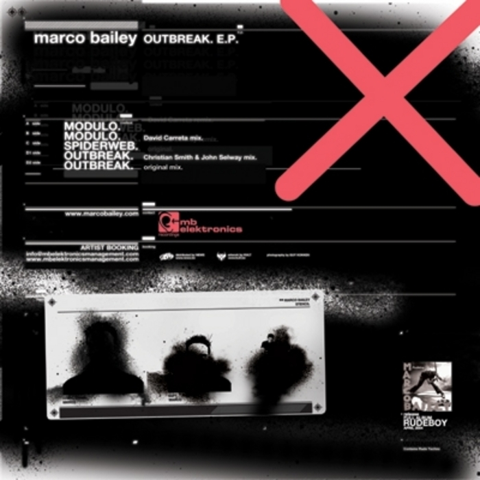 BAILEY, Marco - Outbreak EP