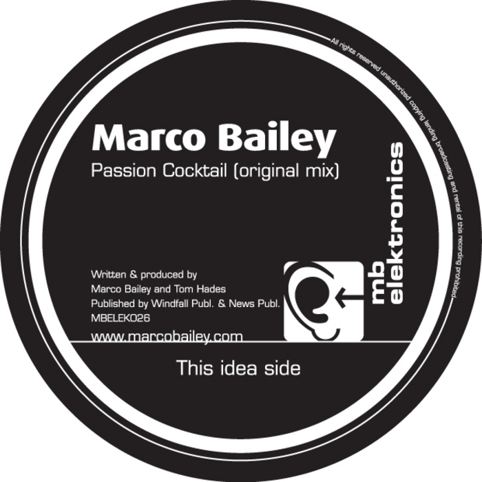 BAILEY, Marco - Passion Cocktail