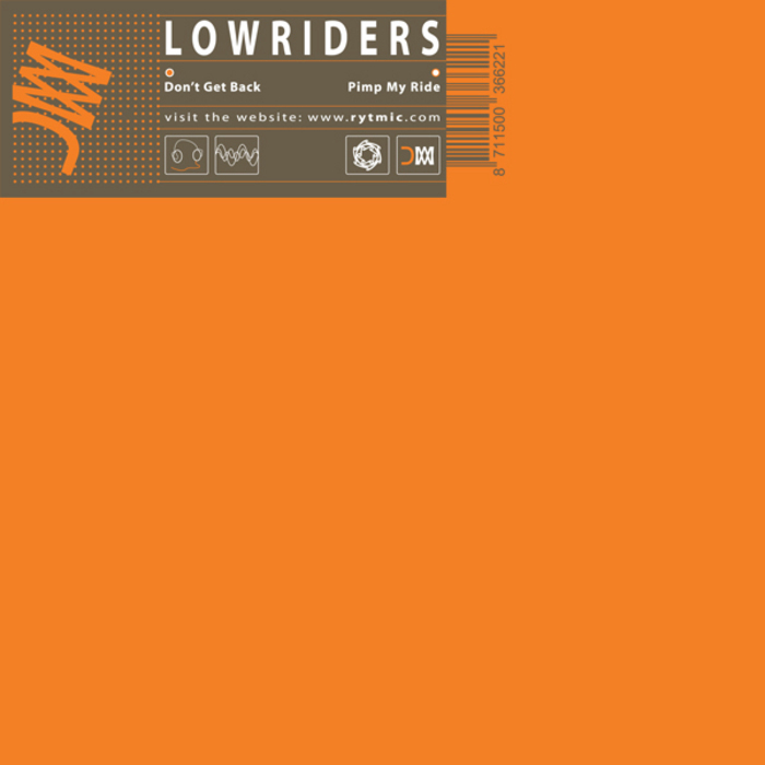 LOWRIDERS - Don't Get Back