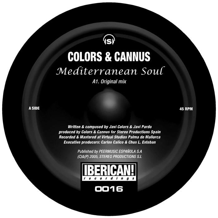 COLORS & CANOUS - Mediterranean Soul