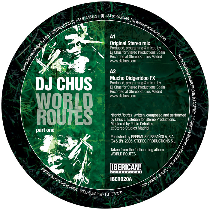 DJ CHUS - World Routes
