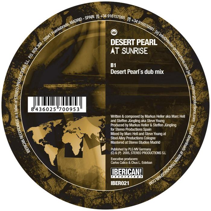 DESERT PEARL - At Sunrise