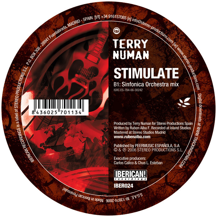NUMAN, Terry - Stimulate
