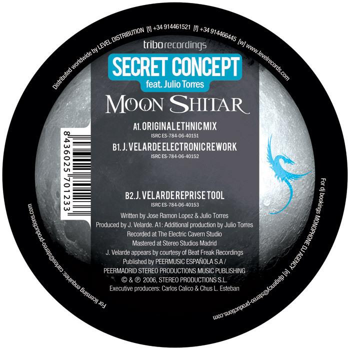 SECRET CONCEPT feat JULIO TORRES/J VERLARDE - Moon Shitar
