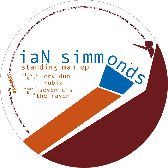 SIMMONDS, Ian - The Standing Man EP