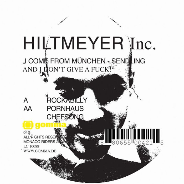 HILTMEYER INC - I Come From Munchen